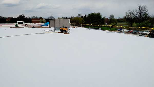 TPO is an ideal choice for Commercial Roof Replacement in NJ