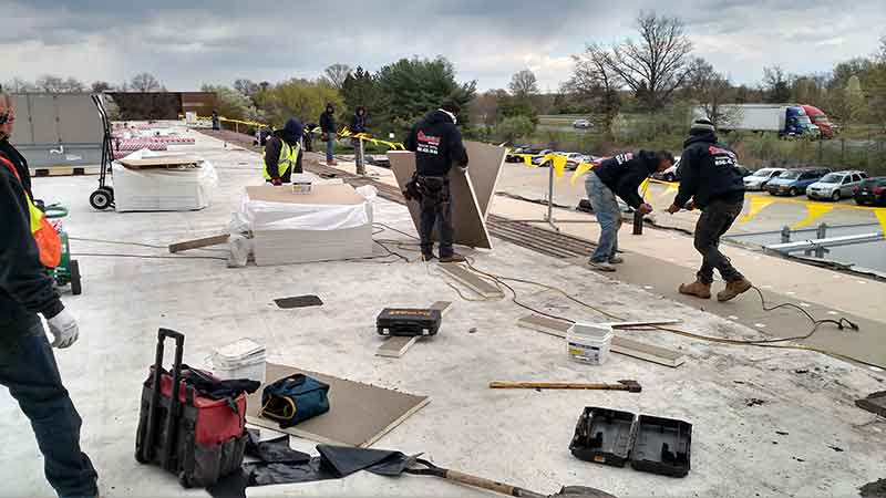 NJ TPO roof replacement project