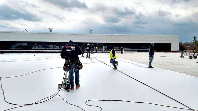 NJ TPO roof replacement
