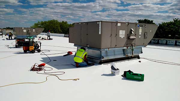 Commercial roof replacement in NJ