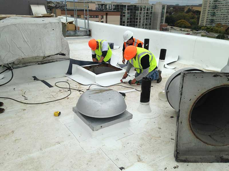 High Rise Condo Roof Replacement NJ