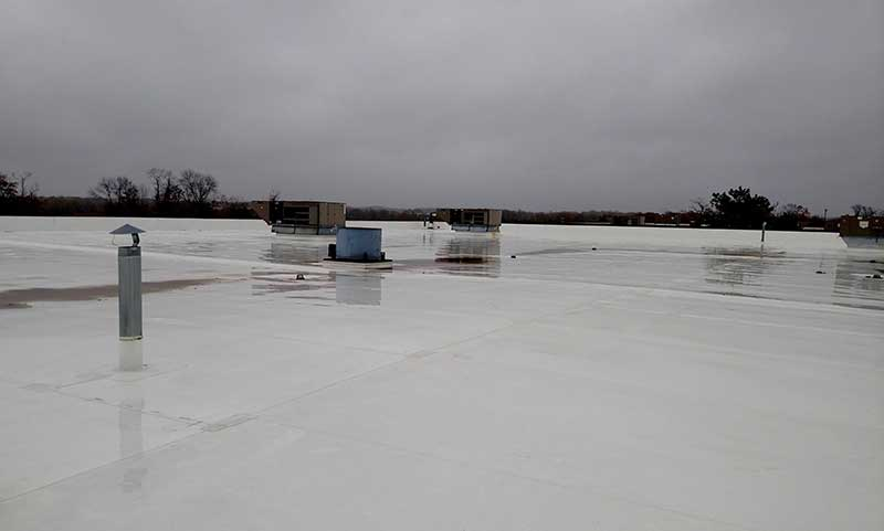 TPO roof replacement in NJ