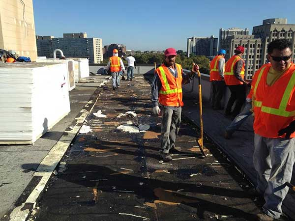 Condo roof replacement 1